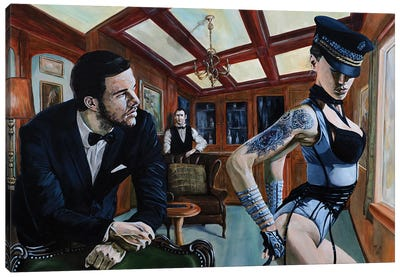 Will There Be Anything Else, Sir? Canvas Art Print