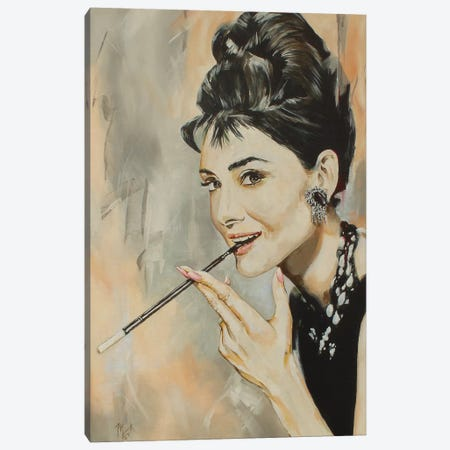 Audrey Canvas Print #MFX22} by Mark Fox Canvas Art