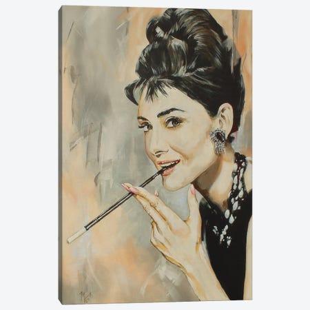 Audrey Canvas Print #MFX22} by Mark Fox Canvas Art