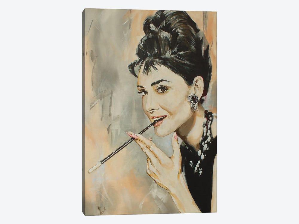 Audrey by Mark Fox 1-piece Canvas Art Print