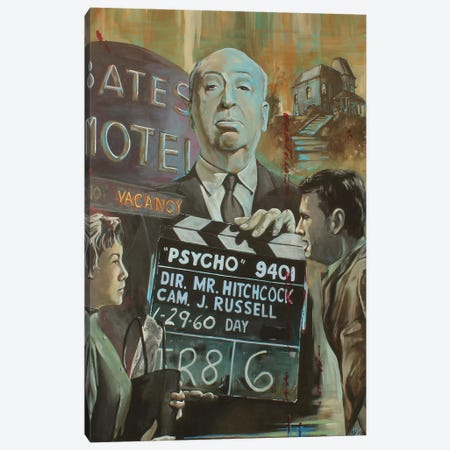 Bates Motel Canvas Print #MFX23} by Mark Fox Canvas Wall Art