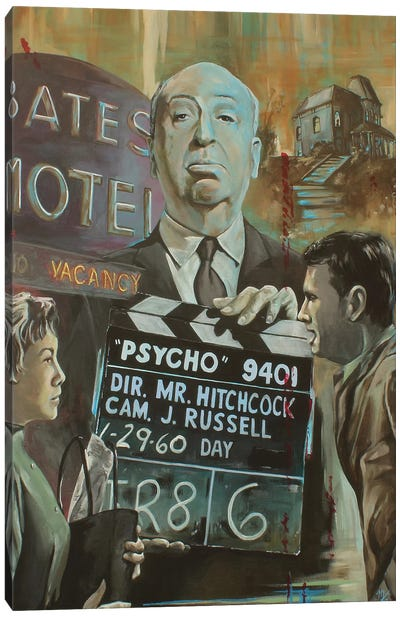 Bates Motel Canvas Art Print