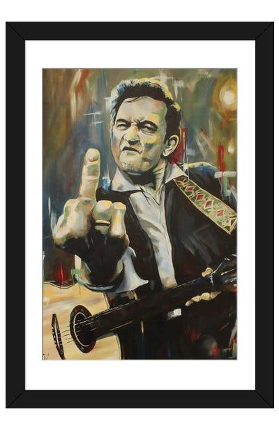 Hello, I'm Johnny Cash Framed Art Print