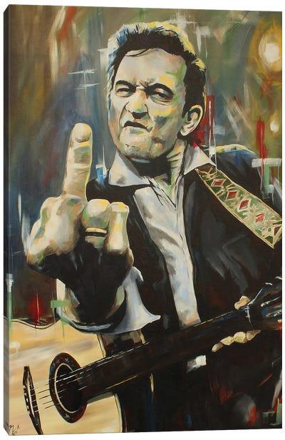 Hello, I'm Johnny Cash Canvas Art Print