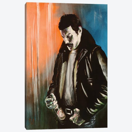 Just a Poor Boy Canvas Print #MFX26} by Mark Fox Canvas Print
