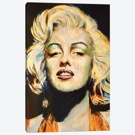 Marilyn Canvas Print #MFX30} by Mark Fox Canvas Art Print