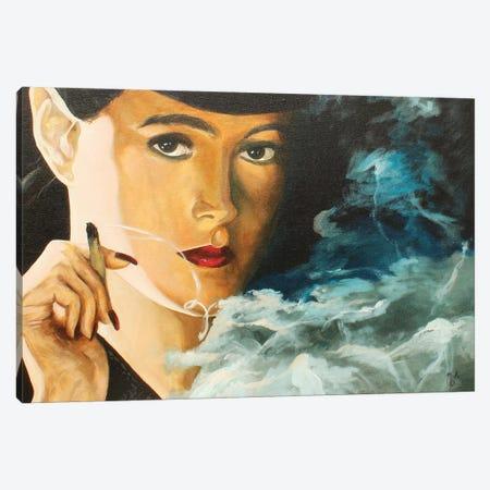 Rachael Canvas Print #MFX31} by Mark Fox Canvas Art Print