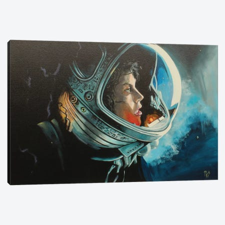 Ripley Canvas Print #MFX32} by Mark Fox Art Print