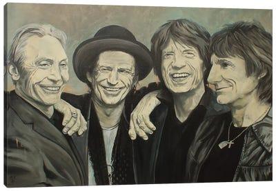 Rolling Stones Canvas Art Print