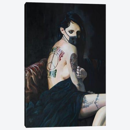 Losing All Faith Canvas Print #MFX36} by Mark Fox Canvas Wall Art