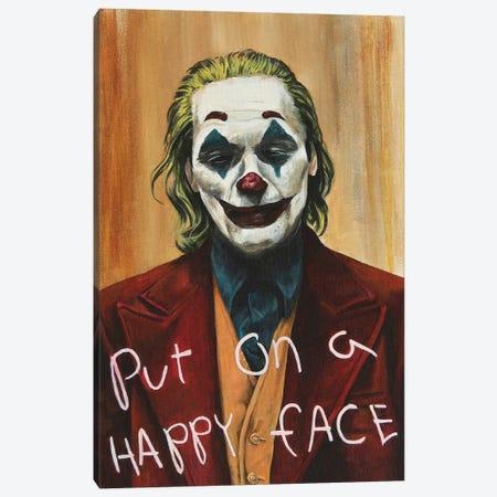 Joker Canvas Print #MFX37} by Mark Fox Canvas Wall Art