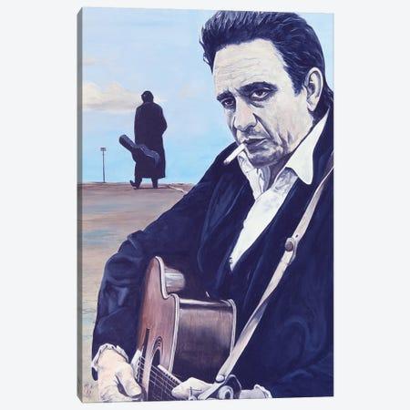Johnny Canvas Print #MFX43} by Mark Fox Canvas Wall Art