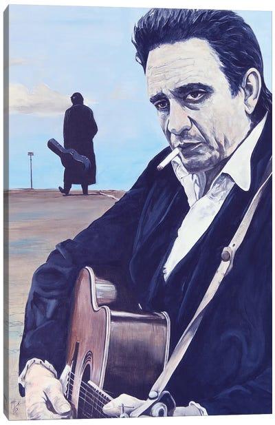Johnny Canvas Art Print