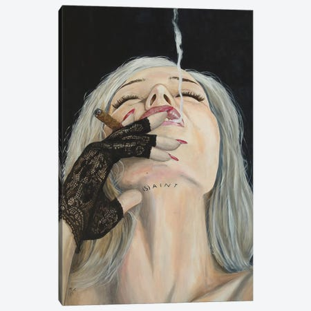 Mis(S)Understood Canvas Print #MFX45} by Mark Fox Canvas Art Print