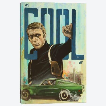 As Cool As. Mcqueen. Canvas Print #MFX48} by Mark Fox Canvas Artwork