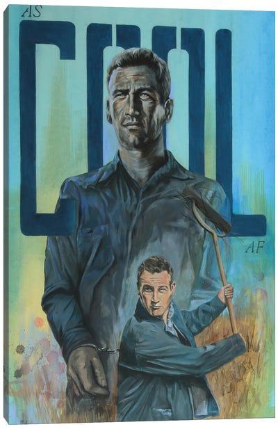 As Cool As. Newman Canvas Art Print