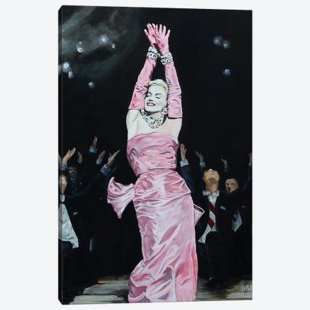 A Girl's Best Friend Canvas Print #MFX51} by Mark Fox Canvas Art Print