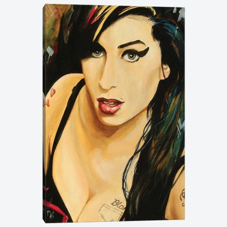 Amy Canvas Print #MFX53} by Mark Fox Canvas Print