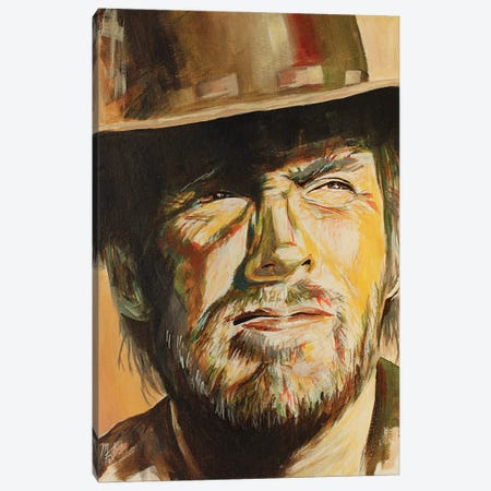 High Plains Drifter Canvas Print #MFX57} by Mark Fox Canvas Wall Art