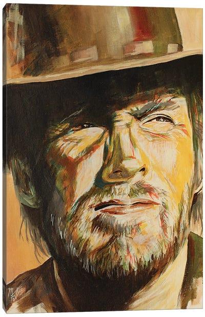 High Plains Drifter Canvas Art Print
