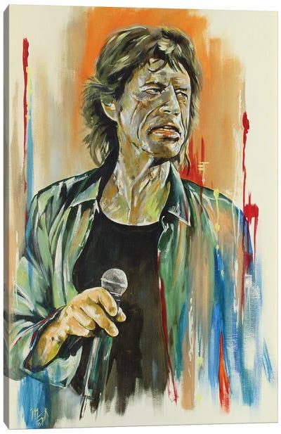 Jagger Canvas Art Print