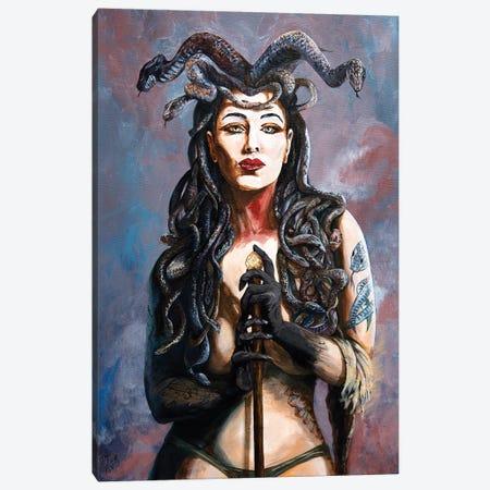 Contemplation Of The Gorgon Canvas Print #MFX5} by Mark Fox Canvas Artwork