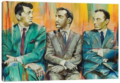 The Rat Pack Canvas Art Print