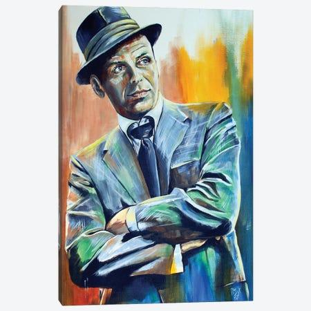 Francis Albert Sinatra Canvas Print #MFX61} by Mark Fox Canvas Wall Art
