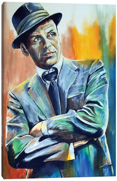 Francis Albert Sinatra Canvas Art Print