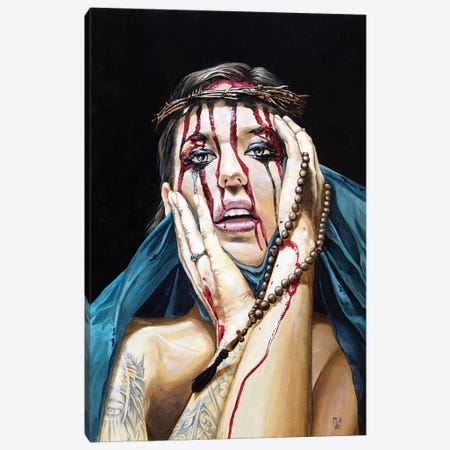 Losing My Religion I - Denial Canvas Print #MFX63} by Mark Fox Canvas Artwork