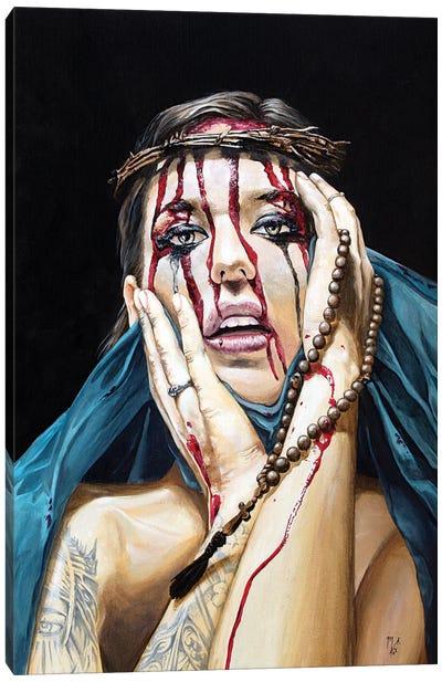 Losing My Religion I - Denial Canvas Art Print