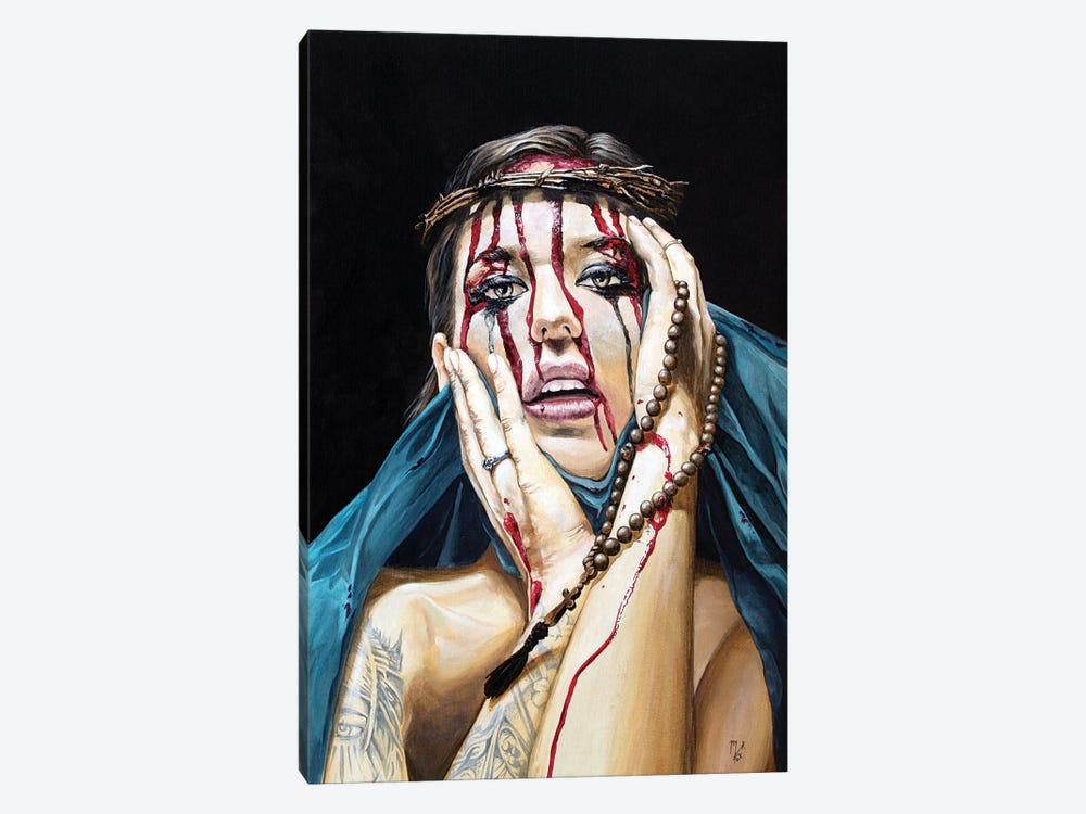 Losing My Religion I - Denial by Mark Fox 1-piece Canvas Artwork
