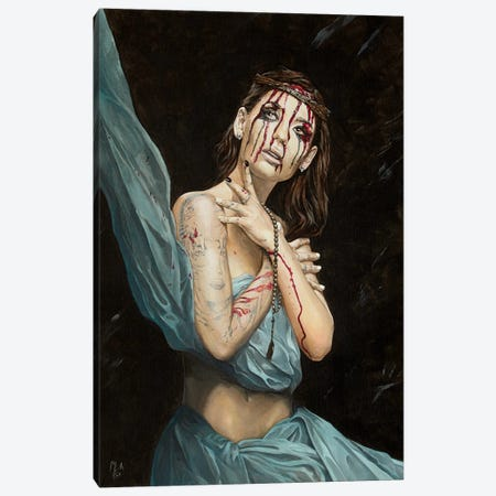 Losing My Religion IV - Melancholy Canvas Print #MFX66} by Mark Fox Canvas Art Print