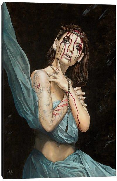 Losing My Religion IV - Melancholy Canvas Art Print