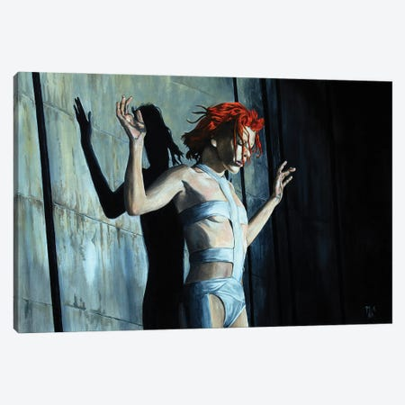 Leeloo. Fifth Element Canvas Print #MFX78} by Mark Fox Canvas Print