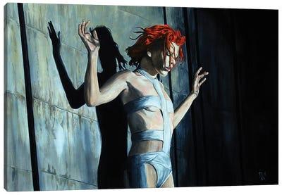 Leeloo. Fifth Element Canvas Art Print