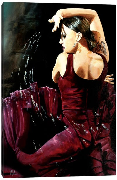 The Passion Of Isabella Canvas Art Print