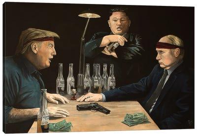 Russian Roulette Canvas Art Print