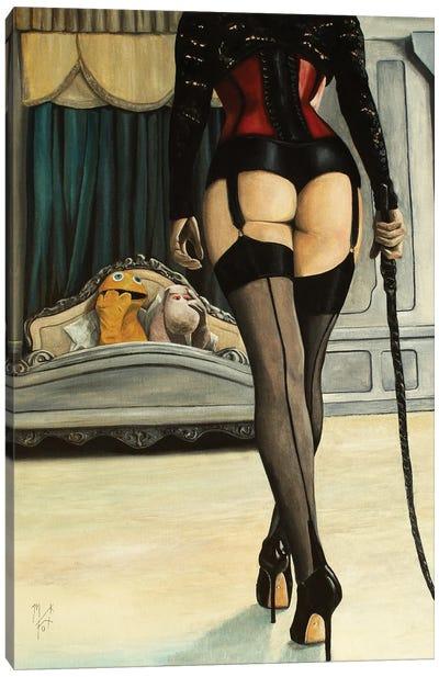 Oh, Geoffrey! Canvas Art Print