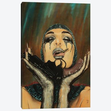 Sweet Revenge Canvas Print #MFX96} by Mark Fox Canvas Art