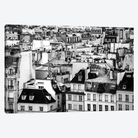 Paris Rooftops Canvas Print #MGD12} by Magdalena Martin Canvas Artwork