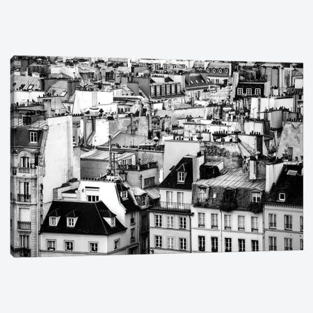 Paris Rooftops Canvas Print #MGD12} by Magdalena Martin Canvas Artwork