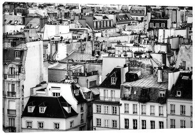 Paris Rooftops Canvas Art Print