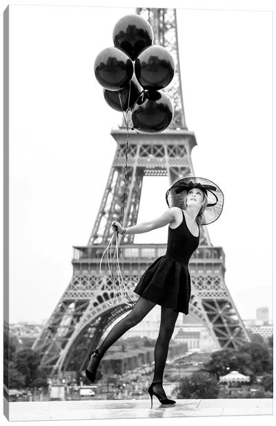 Paris, Je T'Aime Canvas Art Print
