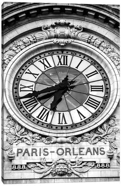 Paris-Orleans Canvas Art Print