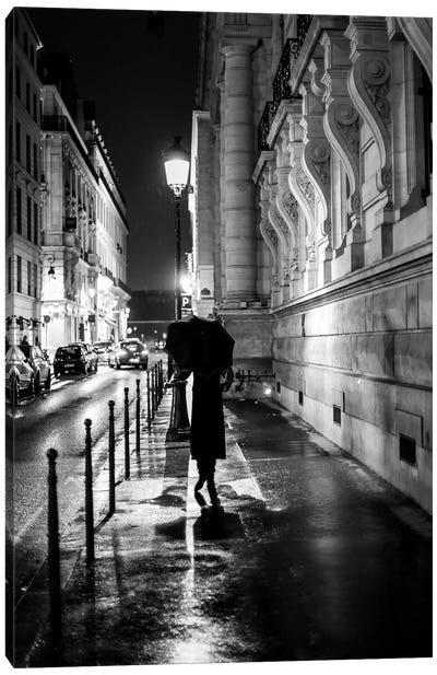 Rainy Nights In Paris Canvas Art Print