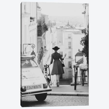 We'll Always Have Paris Canvas Print #MGD25} by Magdalena Martin Canvas Artwork