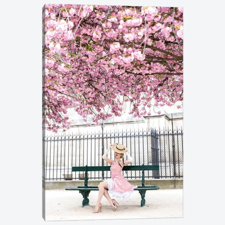 When Spring Comes To Paris Canvas Print #MGD26} by Magdalena Martin Canvas Wall Art