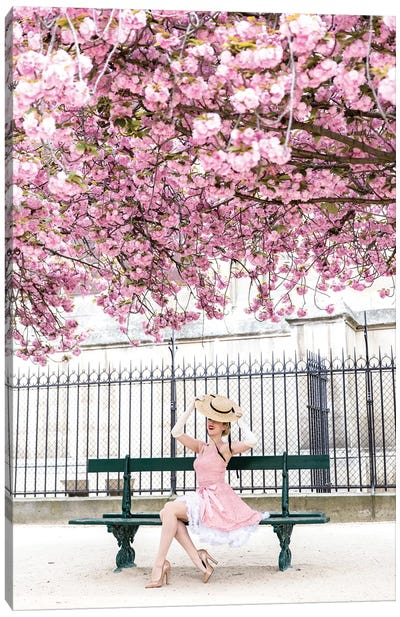 When Spring Comes To Paris Canvas Art Print