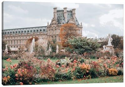 Jardin Des Tuileries Canvas Art Print